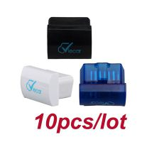 10pcs/lot Newest MINI ELM327 Interface Viecar 2.0 OBD2 Bluetooth Auto Diagnostic Scanner