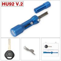 2 in 1 HU92 V.2 Professional Locksmith Tool for BMW HU92 Lock Pick and Decoder Quick Open Tool