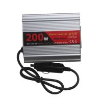 200W USB Car Inverter DC 12V to AC 220V