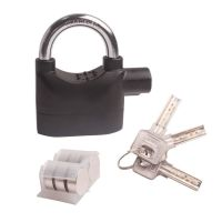 Alarm Padlock / Lock for Motorcycle Scooter Quad Bike