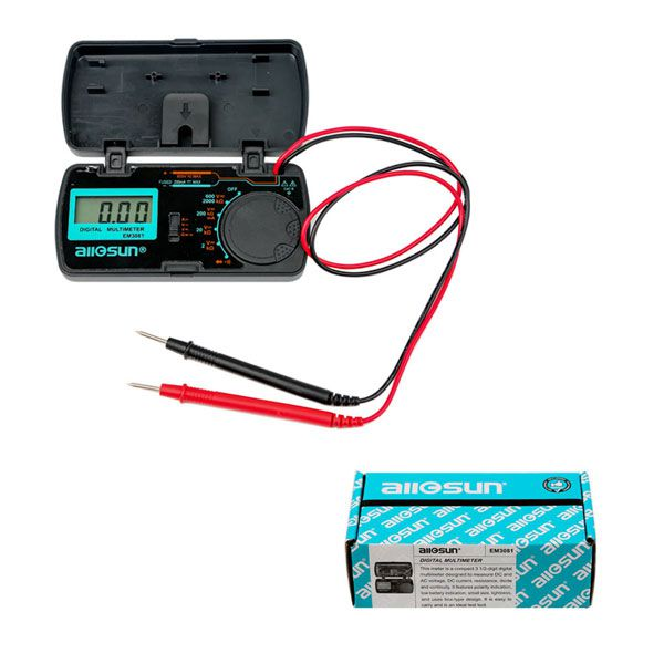 Latest All-Sun EM3081 Digital Multimeter for Measuring DC and AC Voltage