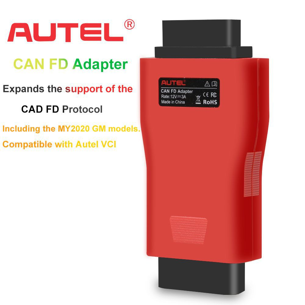 100% Original Autel CAN FD Adapter Global Free Shipping