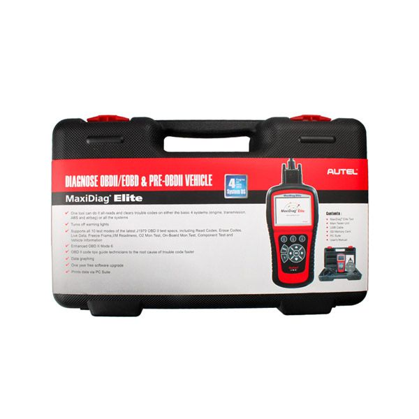 Autel MaxiDiag Elite MD702 Four System with Data Stream European Vehicle Diagnostic Tool