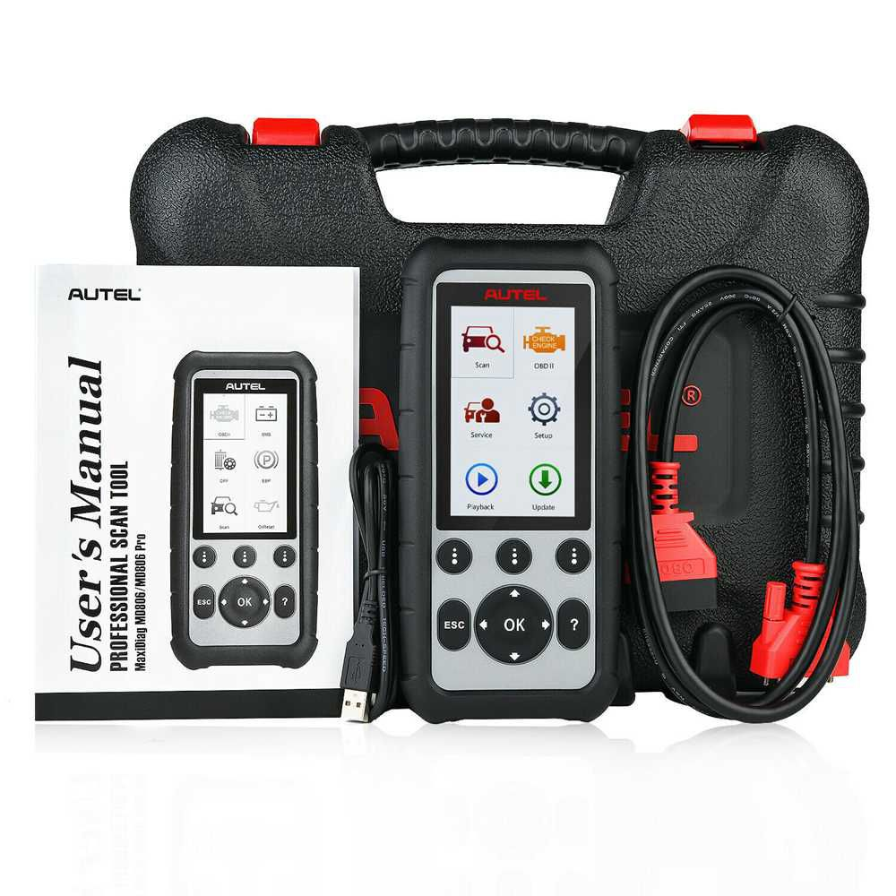 Original Autel MaxiDiag MD806 Pro Full System Diagnostic Tool Same as Autel MD808 Pro Free Update Online Lifetime