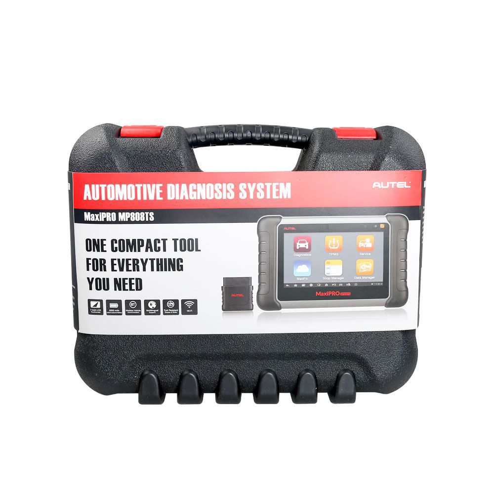 Autel MaxiPRO MP808TS Automotive Diagnostic Scanner with TPMS Service Function and Wireless Bluetooth