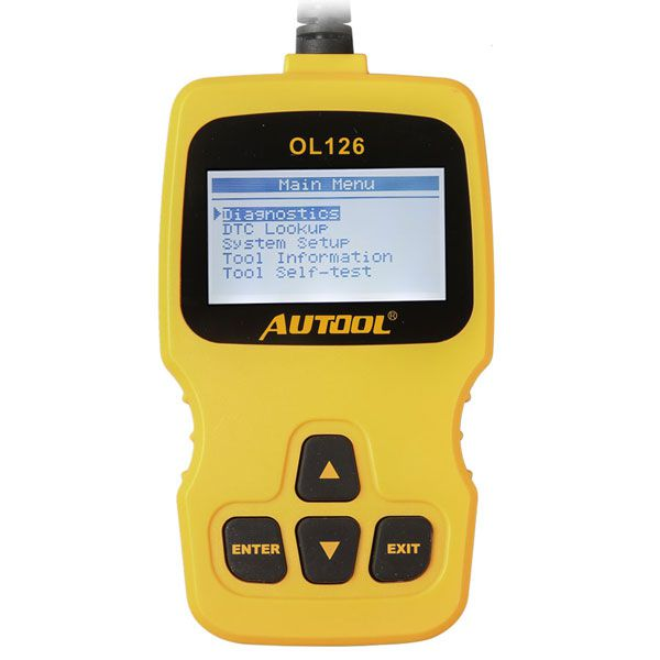 2017 Latest AUTOOL OL126 OBD/EOBD + CAN Auto Engine Diagnostic Tool Supports OBDII Compliant Cars
