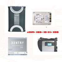 Benz eCOM DoIP Diagnosic Tool with 256G SSD plus MB SD Connect C4 with 2020.09 Xentry Software HDD