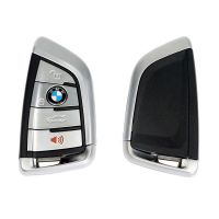 Latest BMW F Series CAS4+/FEM Blade Key 315MHZ (Silver)