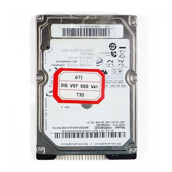OPS GT1 Hard Disk DIS V57 SSS V41 Fit IBM T30 for BMW Free Shipping