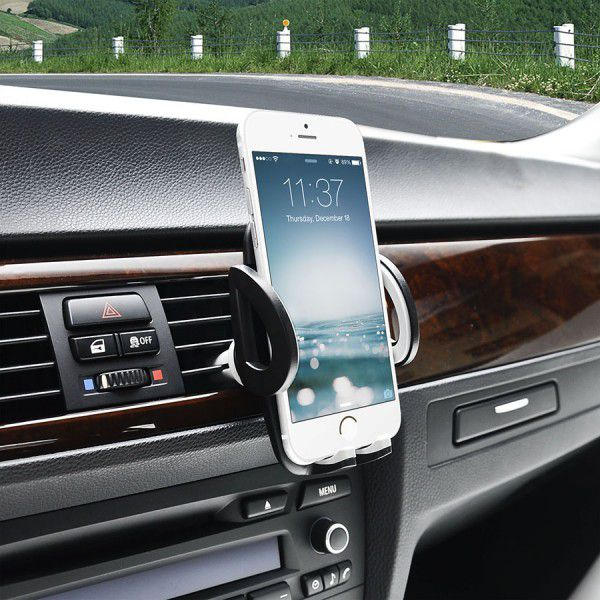C03 3 in 1 Mobile Phone Dashboard, Air Vent and Windscreen Car Holder / Cradle / Mount / - Works on Dashboard / Air Vent and Windscreen