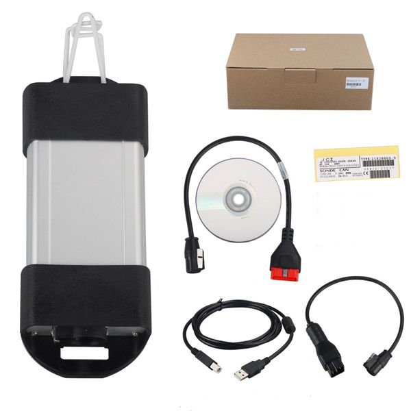 Renault CAN Clip  Renault V195 Latest Renault Diagnostic Tool with AN2131QC Chip Multi-language