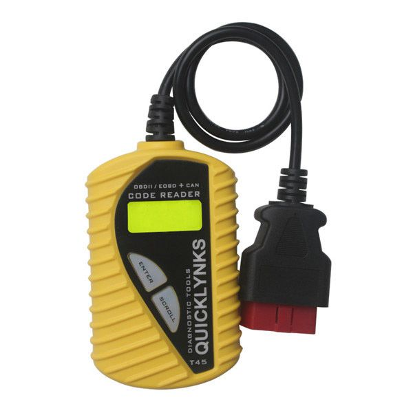 T45 Quicklynks Code Scanner CAN OBD2/EOBD V-A-G Code Reader T45 (Multilingual)