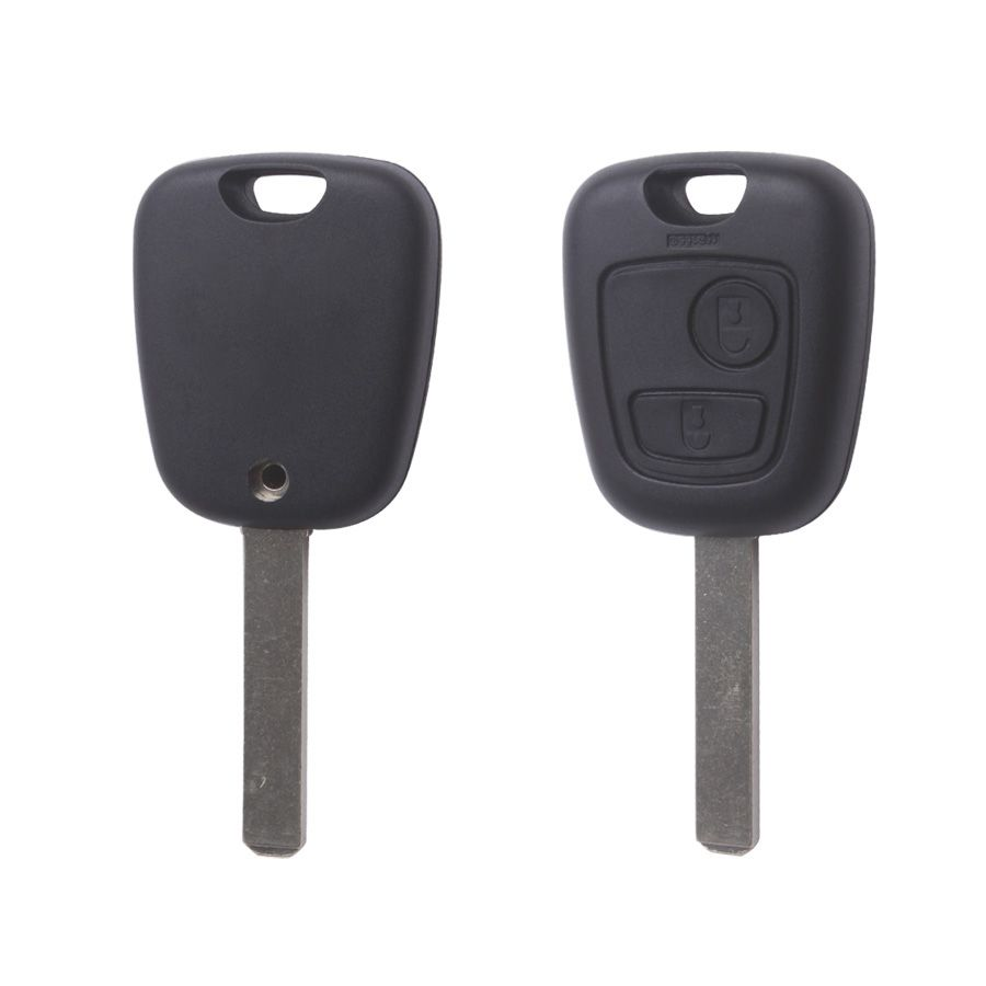 Remote Key Shell 2 Button (without Groove) for Citroen 10pcs/lot Free Shipping