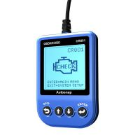 CR801 OBDII/EOBD Code Reader Blue