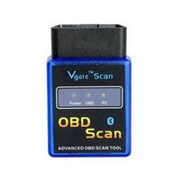 ELM327 Vgate Scan Advanced OBD2 Bluetooth Scan Tool (Support Android and Symbian) Software V2.1 Hardware V1.5