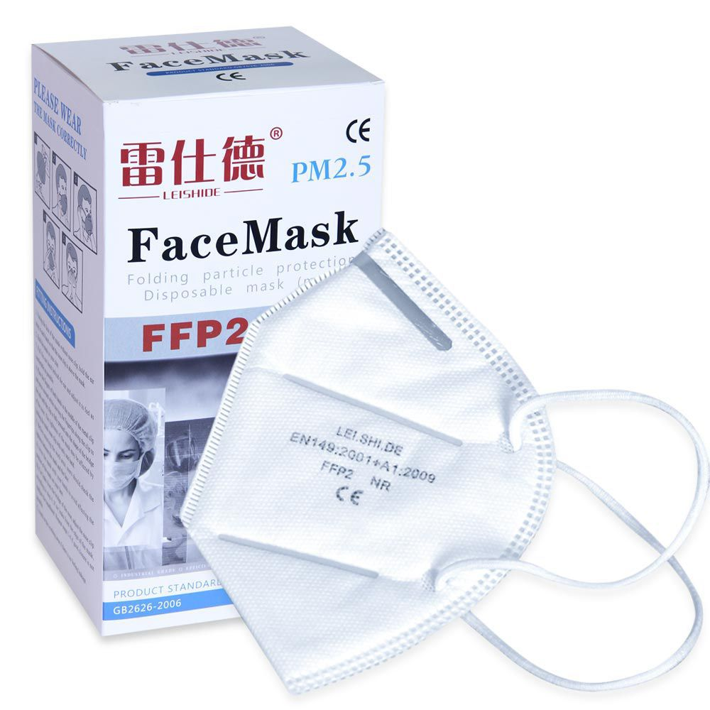 50pcs FFP2 Face Mask CE Certified Personal Protection Free Shipping