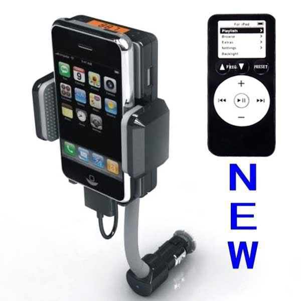 FM Transmitter+Car Charger for iPhone 3GS 3G iPod Touch