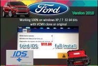 Ford IDS V111.04 500GB HDD for all SP177 Series VCM 2 Diagnostic Tool