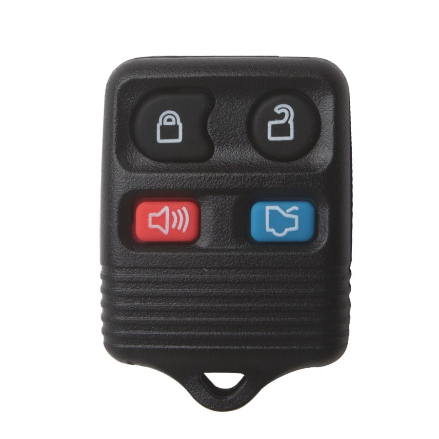 Remote Shell 4 Button (gray color) for Ford 5pcs/lot Free Shipping