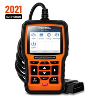 FOXWELL NT510 Elite OBD 2 Automotive Scanner Code Reader SAS DPF Injector BRT Oil 13 Reset Service OBD2 Diagnostic Tool