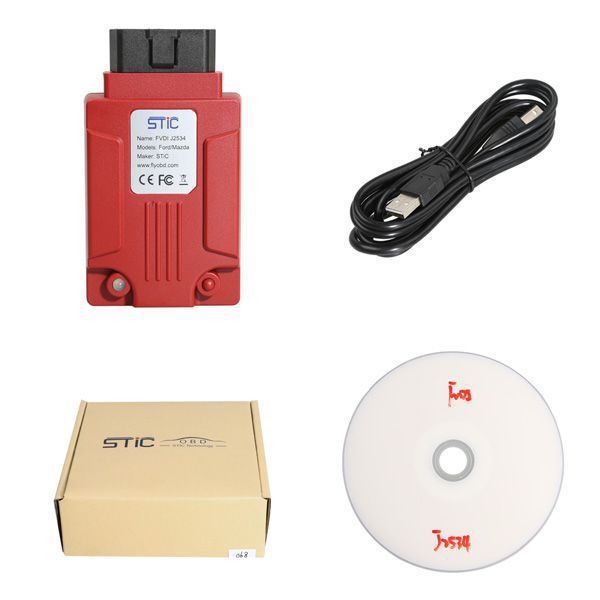 SVCI J2534 Diagnostic Tool for Ford & Mazda IDS V119 Support Online Module Programming