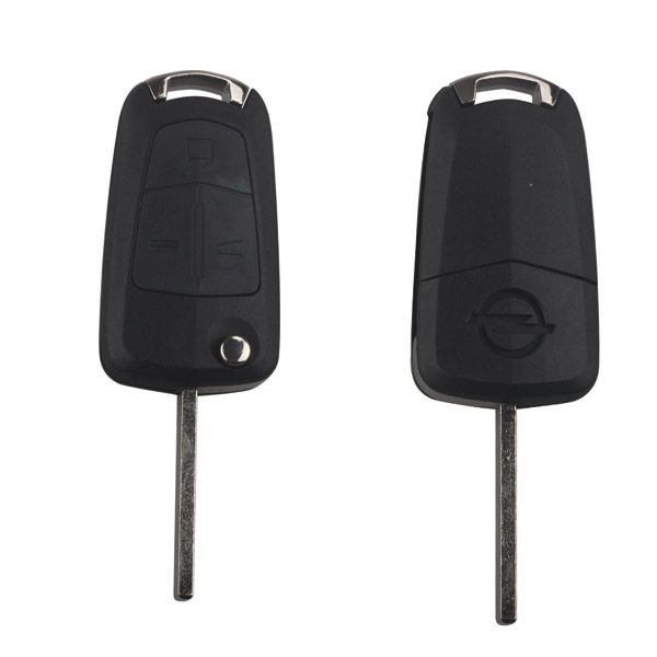 HU100 Remote Key Shell 3 Buttons for Opel Used for Original Board Size 5pcs/lot