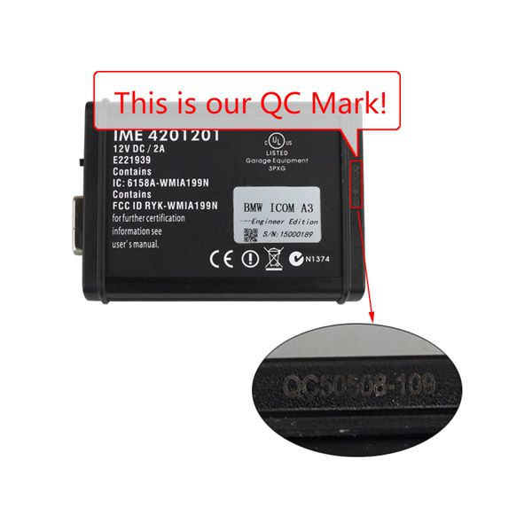 ICOM A3 Professional Diagnostic Tool for BMW Hardware V1.37 with V2015.2 Version Software Multi-Language