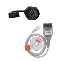 INPA K+CAN Interface Plus 20pin to obd2 16 Pin Connector for BMW