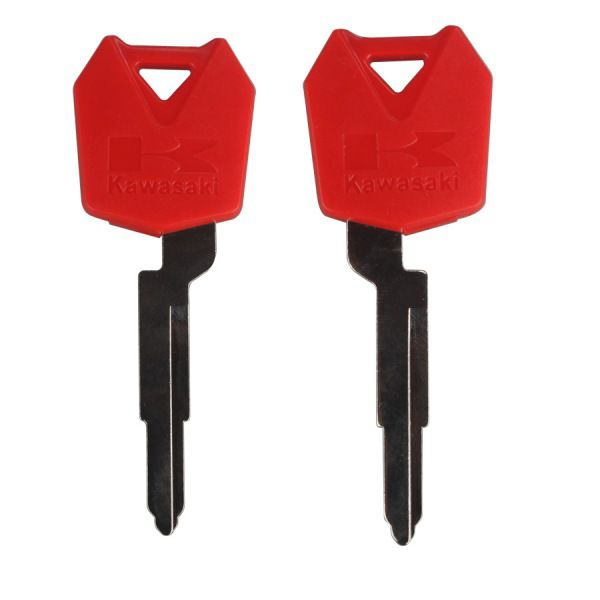 Motocycle Key Shell (Red Color) for Kawasaki 5pcs/lot