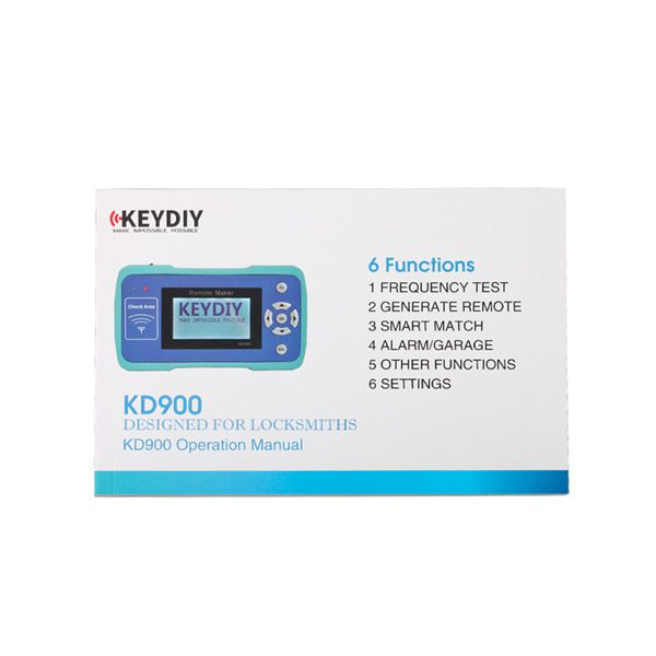 KD900 Remote Maker the Best Tool for Remote Control World with 1000 Tokens