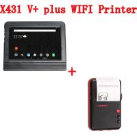 Launch X431 V+ Scanner plus a LAUNCH wifi printer