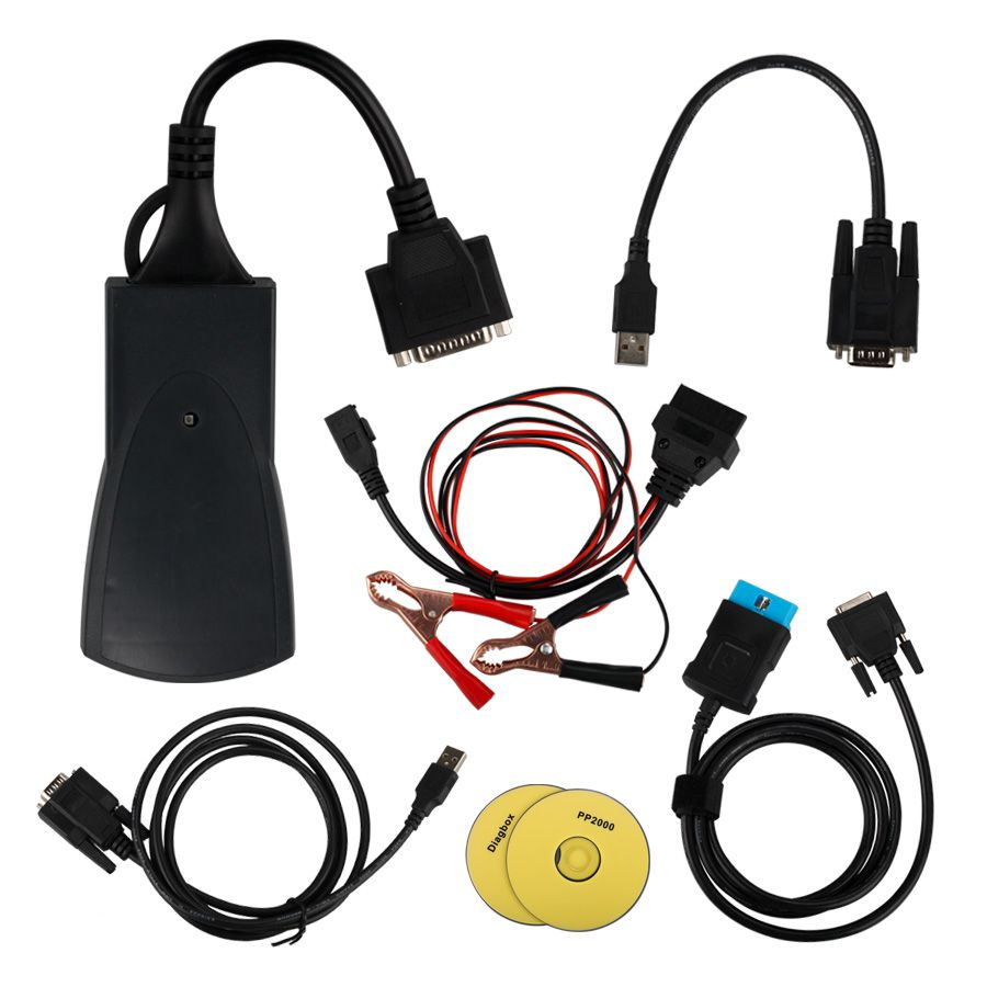 Cheapest Lexia-3 Lexia3 V48 PP2000 V25 Diagnostic Tool for Peugeot and Citroen with Diagbox V7.83 Software