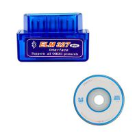 MINI ELM327 Bluetooth OBD2 Scanner Hardware V1.5 Software V2.1