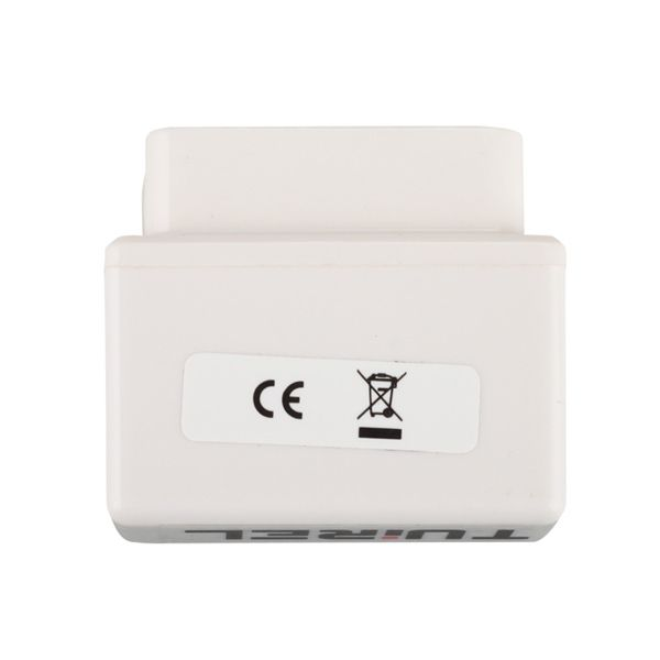 Super MINI ELM327 Bluetooth OBD2 White Smart Car Diagnostic Interface Supports All OBD-II Protocols Software V2.1 Hardware V1.5