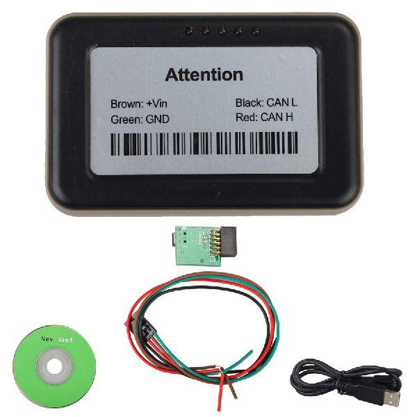 Truck Ad-blue-obd2 Emulator 8-in-1 with Programming Adapter for Mercedes,MAN,Scania,iveco,DAF,Volvo, Renault and Ford