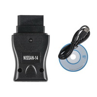 14 Pin Consult Interface For Nissan USB Car Diagnostic OBD Fault Code Cable Tool