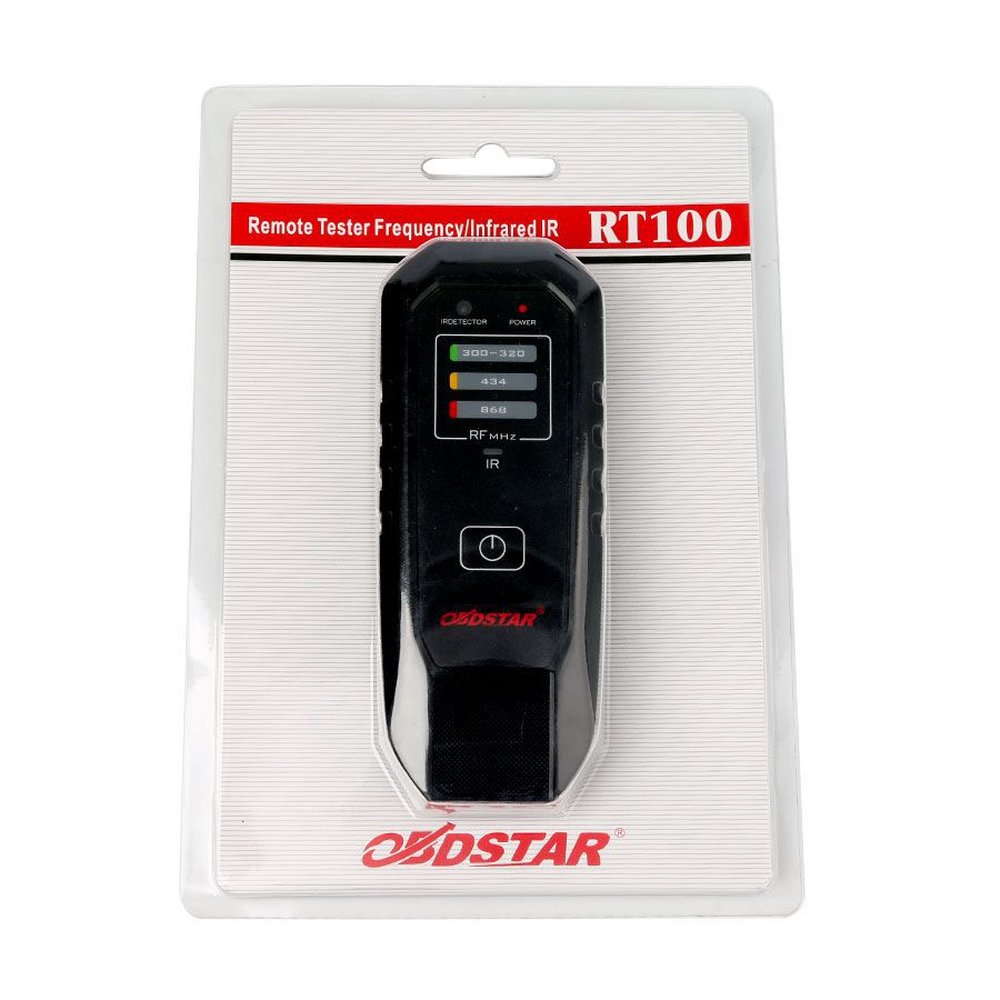 OBDSTAR RT100 Remote Tester Frequency/Infrared IR  Fits 300Mhz 320Mhz 434Mhz 868Mhz