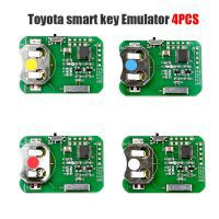 Toyota Smart Key Emulator 4PCS for OBDSTAR X300 DP Plus Key Programmer