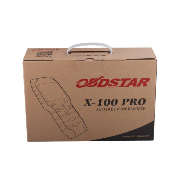 OBDSTAR X-100 PRO (C+D) Type for IMMO+Odometer+OBD Software Plus OBDSTAR PIC and EEPROM 2-in-1 Adapter