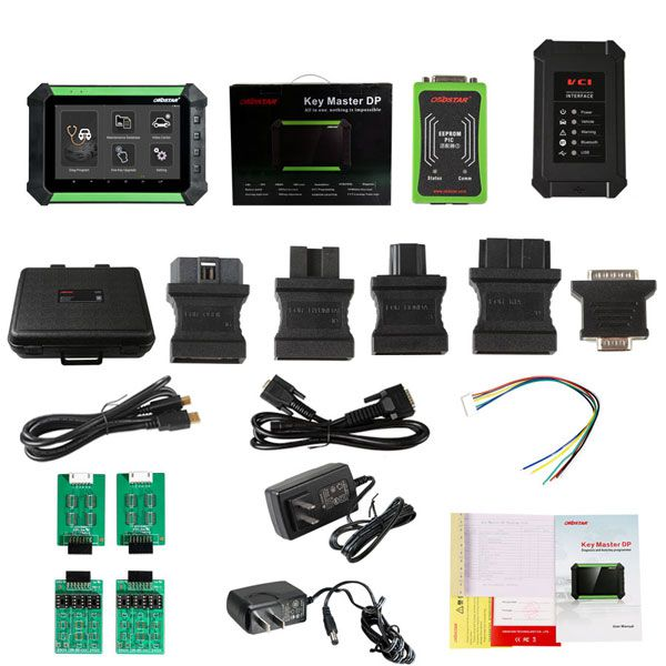 OBDSTAR X300 DP/Key Master DP Pad Key Programmer Full Version Supports Toyota G & H Chip All Keys Lost, BMW FEM BDC Multi-Language
