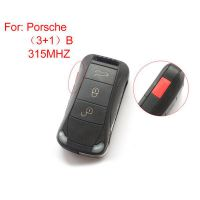 Remote Key 315MHZ 3+1 Button for Porsche