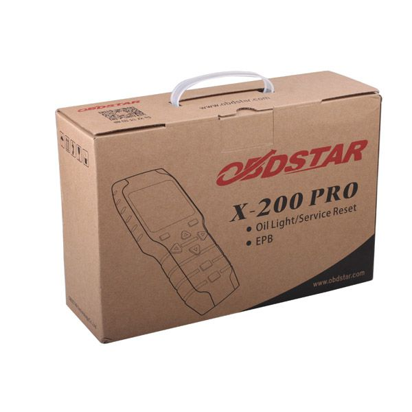 Original OBDSTAR X-200 X200 Pro A+B Configuration for Oil Reset + OBD Software + EPB Free Shipping
