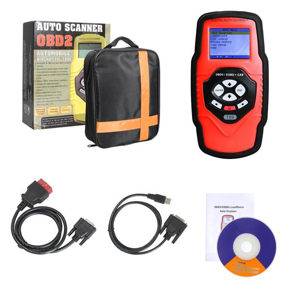 QUICKLYNKS T89 Land Rover All System OBDII Diagnostic Tool Engine ABS Airbag EPB Oil Reset