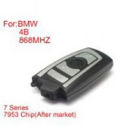 Remote Key 4 Buttons 868MHZ 7953Chips Silver Side for BMW CAS4 F Platform 7Series