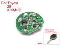 Remote Key Board 2 Buttons 315 MHZ ( duck leg) for Toyota