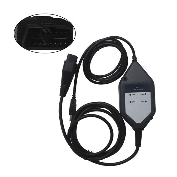 Scania VCI2 Truck Diagnostic Tool VCI II Tester with Scania SDP3 V2.21 Support Update to Scania SDP3 V2.44.1 Without Dongle