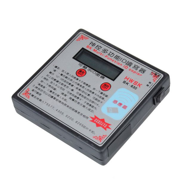 SK-630 Multi-Function RFID Card Copier Duplicator Key Programmer English Version