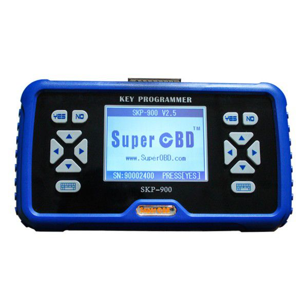 Promotion!Portuguese Version SuperOBD SKP-900 SKP900 V4.4 Hand-held OBD2 Auto Key Programmer
