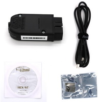 HEX-V2 HEX V2 Dual K & CAN USB VAG Car Diagnostic interface with latest version VCDS software