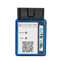 Newest TOYO KEY PRO OBD II for Toyota 40/80/128 BIT (4D, 4D-G, 4D-H) All Key Lost (plug-and-play) Used Alone